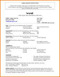 9 Model Resume Example Letter Setup A05712cdfe249fc7146eeecabdd