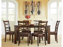 Standard Furniture Redondo Casual Transitional 7 Piece Dining Set