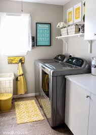 laundry room makeovers charming small. This Adorable And Cheery Laundry Room Makeover Reveal Via Lil Luna Scored Points With Me For It\u0027s Fun Use Of Colour \u2013 But It Has Lots Cute Simple Makeovers Charming Small