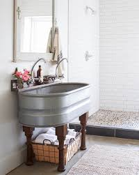 home design trends galvanized stock tanks and feed troughs as décor double stock tank