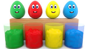 Learn Colors With Surprise Eggs 3d For Kids Toddlers Learning
