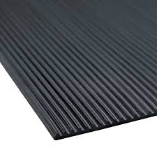 corrugated black rubber runner mat main picture image preview