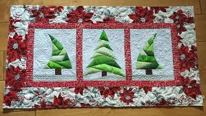 10 FREE Christmas Sewing Patterns - On Craftsy! & Paper Pieced Mini Tree Quilt or Table Runner Adamdwight.com