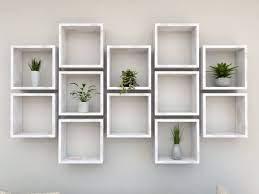 cube shelves wall shelves cube wall shelf