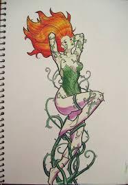 Poison Ivy Designs 4 Nice Poison Ivy Tattoo Designs