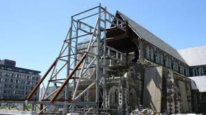 christchurch cathedral reinstatement progresses with steel framing to be removed newshub