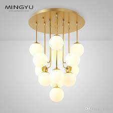 longree bubble glass orb chandelier white luxury glass ball pendant lamp light fixture ceiling light glass orb chandelier luxury glass ball pendant
