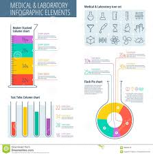 Chemistry Chart Template Medical And Lab Infographic Stock Vector Illustration Of Icon 8