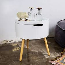 small round table. Small Round Table Storage House Sofa Side Simple Corner Several Living Room Telephone E