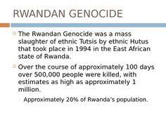turns all you need to know about modern history in time  rwanda genocide powerpoint 27 slides on major events