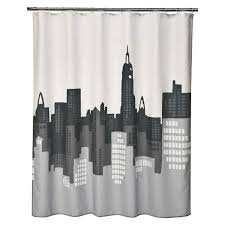 target shower curtains awesome alissa s bathroom with gray walls black colorful towels