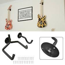 horizontal guitar wall hanger tilt and
