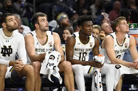 Notre Dame Basketball Depth Chart Notre Dame Mens Basketball Prepares For Tough Road Test