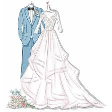 Sketching Clothing Wedding Dress Sketches Prom Dress Sketches Free Sketching Service
