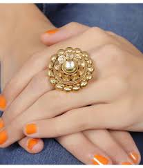Traditional Ring Designs In Gold Much More Traditional Beautiful Design Gold Plated Crystal