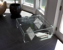 glass form furniture. full size of coffee tablesastonishing mid century thick lucite waterfall form table glass furniture