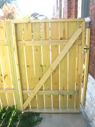 Simple Wood Fence Gate Plans Charming Wooden Inside Ideas