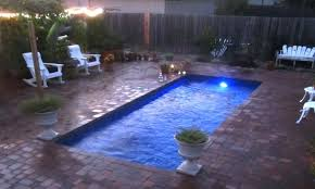 small inground pool small pools cost small fiberglass pools for