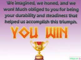 Words For Congratulations Congratulations Messages For Sports Achievement Words To