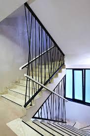 modern staircase railing