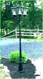 front yard light post lamp ideas outdoor with regard to driveway plans46