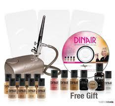 dinair best airbrush makeup kit reviews 2016