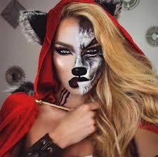 creative makeup ideas wolf woman makeup