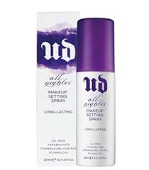 amazon all nighter long lasting makeup setting spray 1 0 oz source urban decay all nighter
