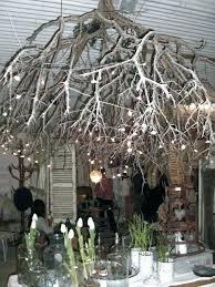 shadow chandeliers tree branch chandelier chandelier tree silver lake fresh creative ideas for rustic tree branch