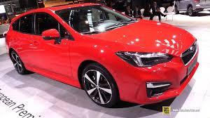 2018 subaru exterior colors. contemporary colors 2018 subaru impreza  exterior and interior walkaround debut at 2017  frankfurt auto show to subaru exterior colors