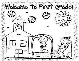 welcome to kindergarten coloring page welcome to kindergarten coloring page welcome back to school coloring pages