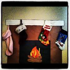 how to make a paper fireplace for out of