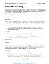Financial Summary Template Newest Executive Report Template Doc 24 Executive Summary Template 2
