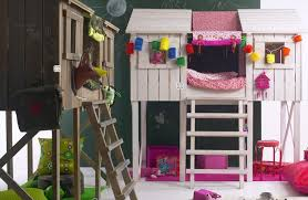 treehouse loft bed bunk bed playhouse style loft bed with enclosed top bunk