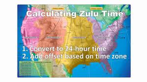 Zulu Time Conversion Chart Pdf Pilots Guide To Zulu Time