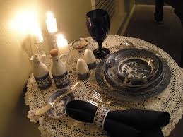 today i have a little diffe spin on my tablescape you see this little tablescape is just for me all by my self a little round table in my living