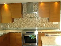 Glass Tile Kitchen Backsplash Designs Custom Design