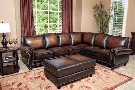 man room furniture. hereu0027s an immaculately elegant dark leather sectional that will raise the luxury quotient of any man room furniture