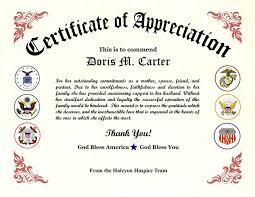 Fillable Certificate Of Appreciation New Sample Certificate