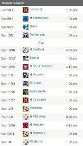 A Closer Look At The Cleveland Browns 2011 2012 Schedule