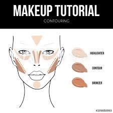 Makeup Tutorial Contouring Contour And Highlight Bronze