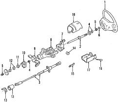 parts com® ford f 250 super duty steering column oem parts 2001 ford f 250 super duty xlt v8 7 3 liter diesel steering column