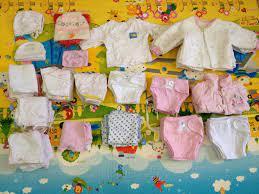 Chọn quần áo sơ sinh theo cân nặng và chiều cao của bé