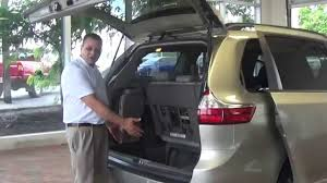How to access the spare tire on a new 2015 Sienna - YouTube
