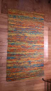 oxidos jute area rug hand crafted in colombia 28x43