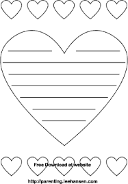 Small Picture Valentines Day Heart Shape Note Paper