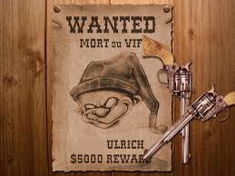 wanted photoshop template