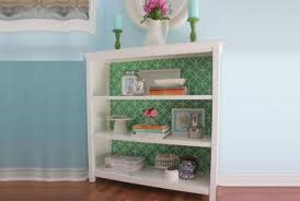 7 Cool DIY Furniture Makeovers With Wallpaper HomedecorXPcom