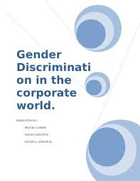 essay on gender discrimination in  essay gender inequality paragraph on gender equality and the gender inequality in the