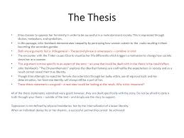 the chrysanthemums rdquo a tool for learning ppt video online the thesis